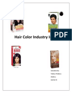 hair color industry india
