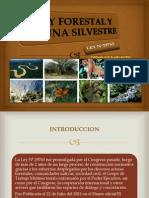 LEY FORESTAL DE FAUNA SILVESTRE