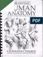 drawing human anatomy by Giovanni Civardi