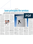 lean in services