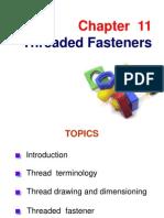 Chapter 11 Thread Fastener
