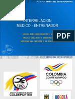P-Interrelación grupo Biomédico-Cuerpo Técnico COC