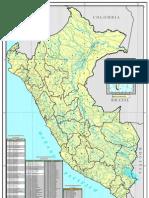 Mapa Hidrografico del Perú