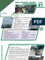 Tema 27 Maniobras Detencion, Parada y Estacionamiento