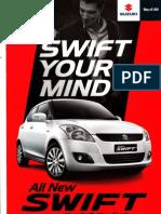 Brosur All New Suzuki Swift 2013