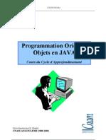 Programmation orientée Objet en JAVA
