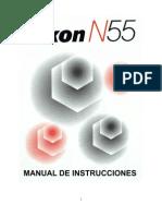 Manual de funcionamiento de la Nikon N55- ES.