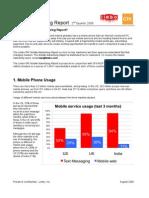 Mobile Advertising Report Q2 2008