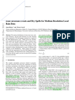Scale Invariant Events and Dry Spells for Medium Resolution Local Rain Data