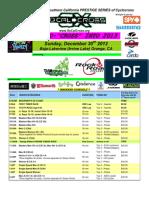 Cross into 2013 schedule