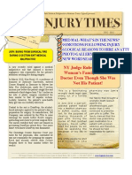 NY Injury Times-December 2012- New Newsletter