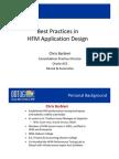 Best Practices in Hyperion Financial Management Design & Implementation