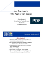 Best Practices in Hyperion Financial Management Design & Implementation