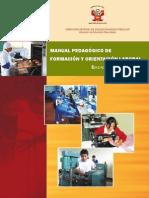 MANUAL PEDAGOGICO de Formacion y Orientacion Laboral EPT