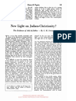 New Light on Judaeo-Christianity