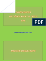 Differences in CPR