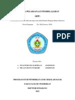 RPP B.I Kelas VI Sem 2 Berpidato