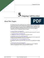 Outgoing Call Procedure