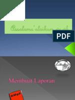PPT Dasar-dasar Evaluasi Pendidikan ( Membuat Laporan )