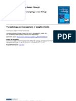 The aetiology and management of atrophic rhinitis