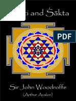 Woodroffe - Śakti and Śākta