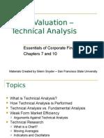 4 Stock Valuation Technical Analysis