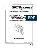 Thermal Dynamics PakMaster 100 XL Plus Service Manual