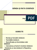 Tema 7. Dobanda Si Rata Dobanzii