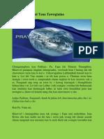 Khawvel Pumpui Tana Tawngtaina (Prayer for the Nations)