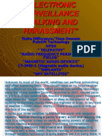 Electronic Harassment and Stalking