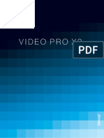 Manual Video Pro X2