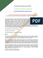 Cs-05 Solved Assignment Ignou 2012