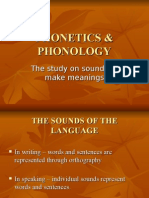 Phonetics & Phonology Intro