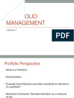 SAPM -2 - Portfolio Management