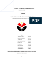 pengaruh pola asuh terhadap perkembangan bahasa AUD
