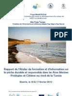 Rapport Atelier Pêche durable 16&17 fev 2012