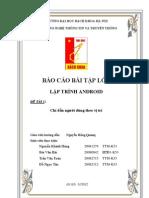 Bao Cao Lap Trinh Android