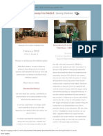 2012 January Humanity First Medical Newsletter