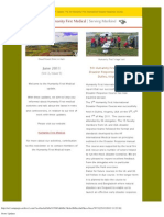 2011 June Humanity First Medical Newsletter