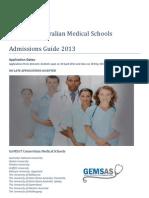 GEMSAS Admissions Guide