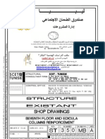 CSS Structure Ferraillage Poteaux R+7