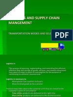 LSCM Transportation Modes