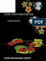 Teori Trait Dan Faktor