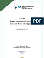 Rapporto annuale sulle statistiche in materia di asilo e immigrazione