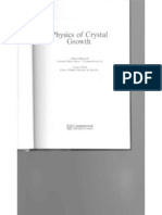 38689456 Physics Crystal Growth