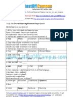 Download E book Complete TCS career placement guide for freshers     Documents Similar To TCS Hyderabad Placement Paper  Hyderabad pdf