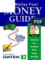 AA- The Motley Fool Money Guide
