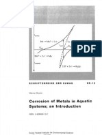 Corrosion of Metals in Aquatic Systems; An Introduction.stumm