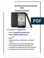 HD2 Android Full Step-By-Step InstallGuide