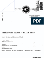 Helicopter' Noise - Blade Slap